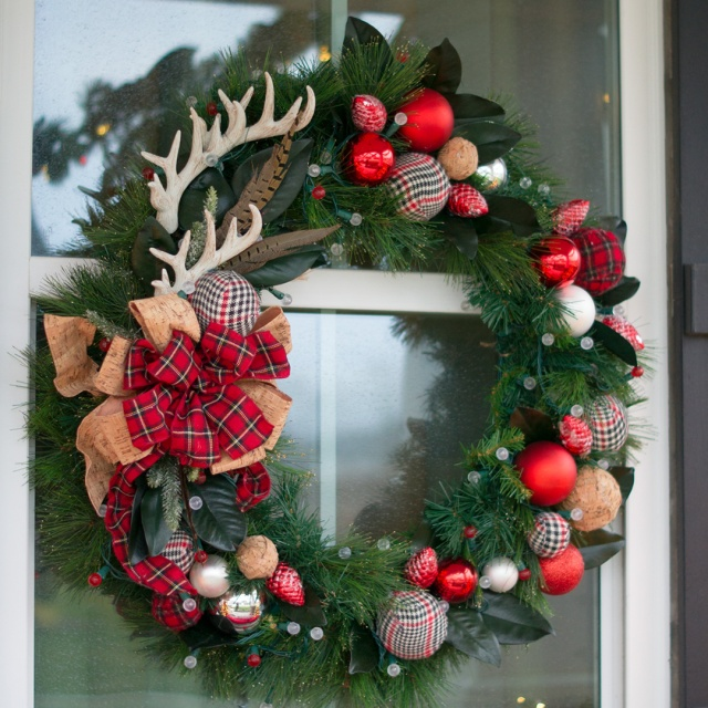 Deer Antler wreath
