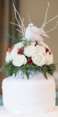 DIY Wedding cake topper